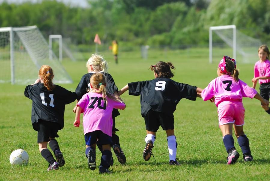 Girls Soccer Exhibition Game!